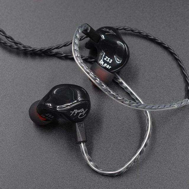 Fone In Ear Kz Zs3  Lacrado Original. - Foto 3