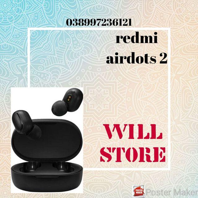 Fones Bluetooth redmi airdots 2
