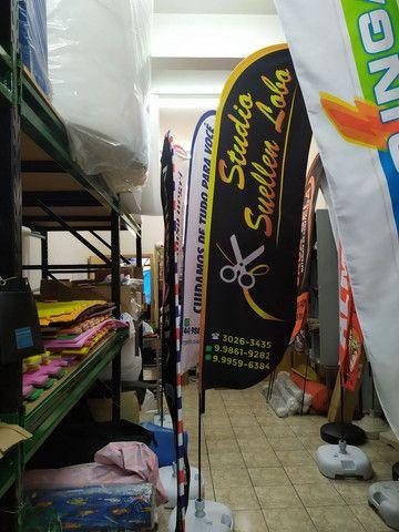 FLAG BANNER ou WIND BANNER - Foto 6