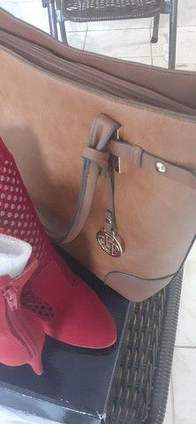 Bolsa e bota feminina  - Foto 5