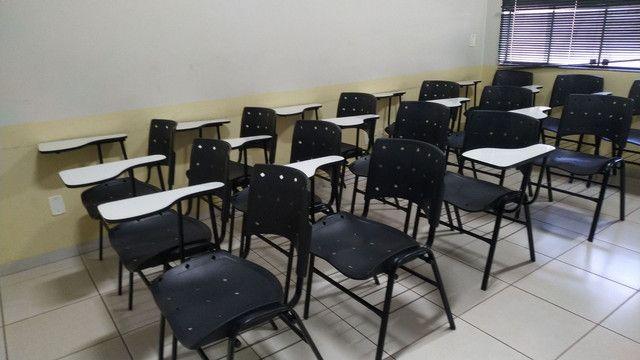 75 cadeiras universitárias/escolares - Foto 2