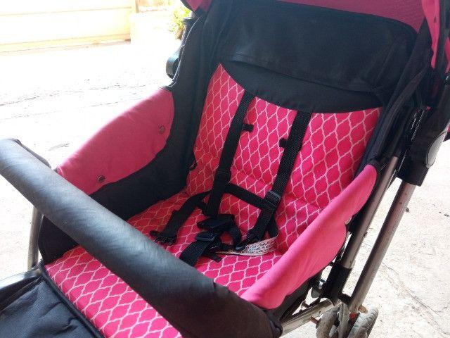 Carrinho De Bebê Flip Multikids até 15Kg - Foto 2