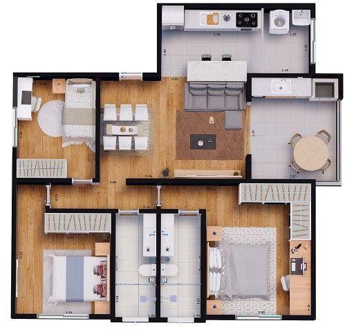 Apartamentos financiados - Foto 4