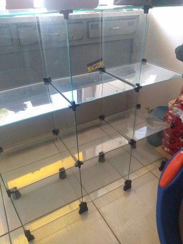 Vendo estante de vidro - Foto 2