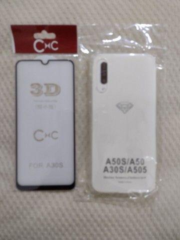 Película de vidro 3D para celular e capa