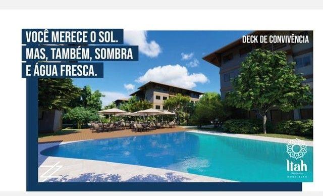 Flat com 2 dormitórios à venda, 56 m², térreo por R$ 630.000 - Praia Muro Alto, piscinas n - Foto 5