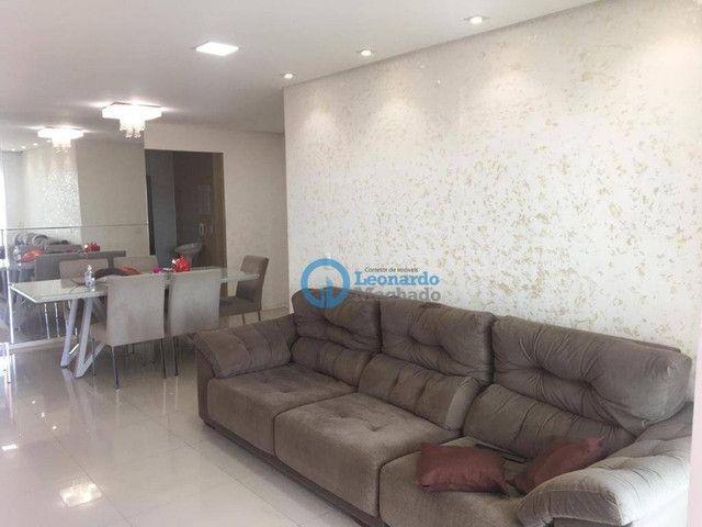 Apartamento com 3 dormitórios à venda, 135 m² por R$ 990.000 - Dionisio Torres - Fortaleza - Foto 2