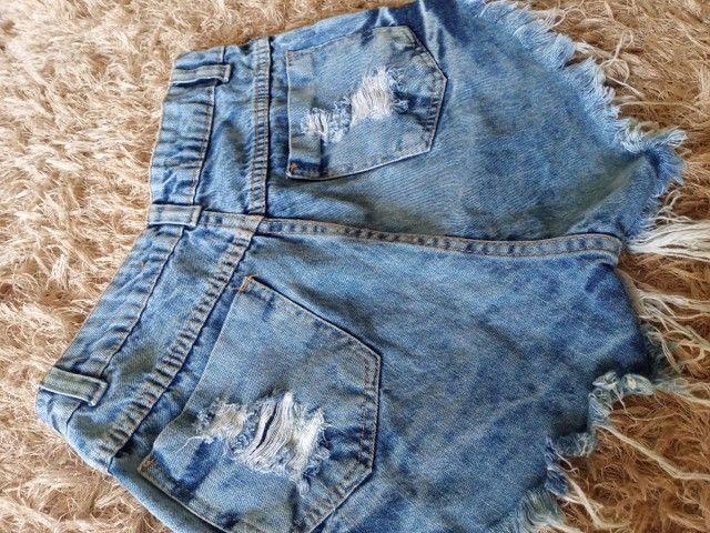 vendo short jeans 36 - Foto 3