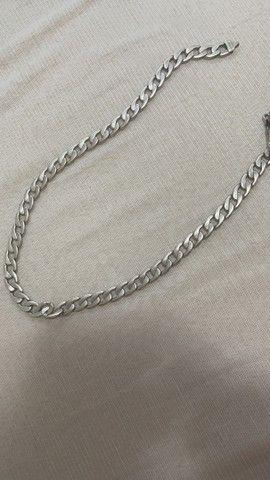 Cordão de prata 100 gramas