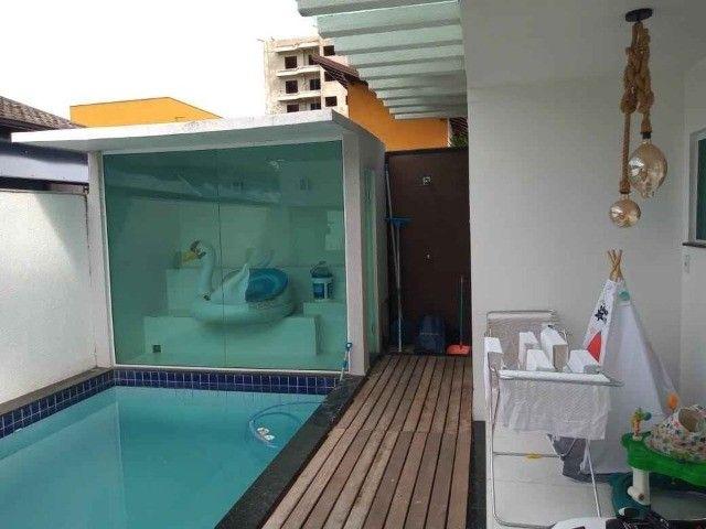 Duplex com 04 quartos, piscina, churrasqueira em condomínio no centro de São Pedro - Foto 11