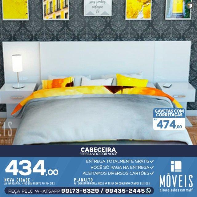 Cabeceira de cama em MDF  - Foto 2