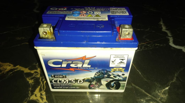 Bateria de moto  - Foto 2