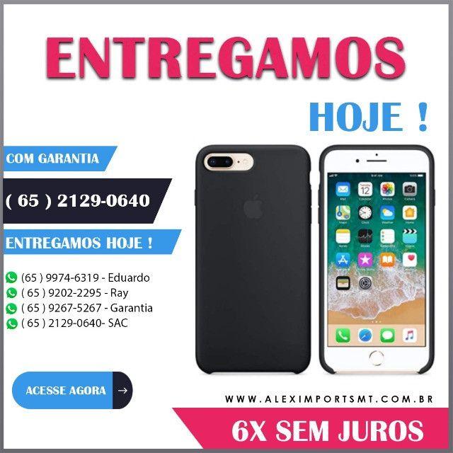 Capinha Case Capa iPhone 8 Plus/7Plus Cor Preta Barata