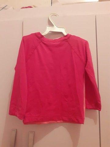 Blusa de manga com proteção UV - Foto 2