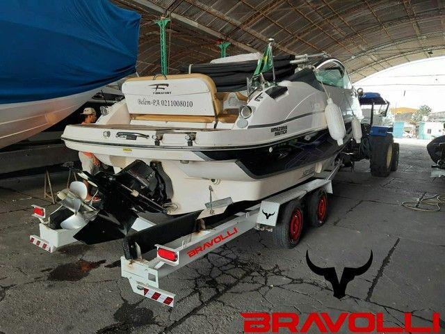 Carretinha Reboque Transporte de lancha e Barcos da Bravolli