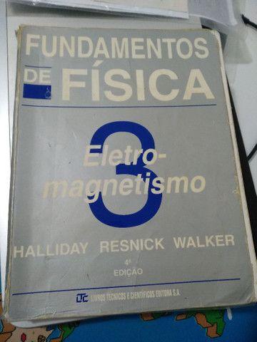 Fundamentos de Física, Halliday. Livros 1, 2, 3 e 4. Usados - Foto 4