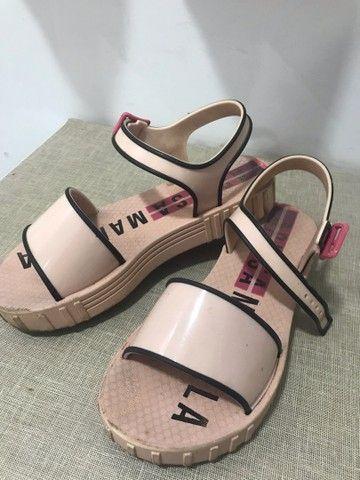 Sapato da Larissa Manoela