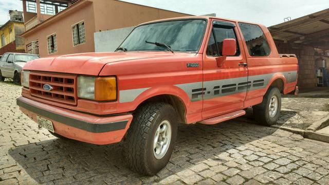 FORD F1000 CABINE DUPLA TURBO DIESEL ANO 93
