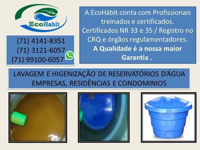 Lavagem de reservatório d'água / desinsetização / dedetização / desratização