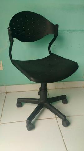 Cadeiras de escritório Polietileno /Couro