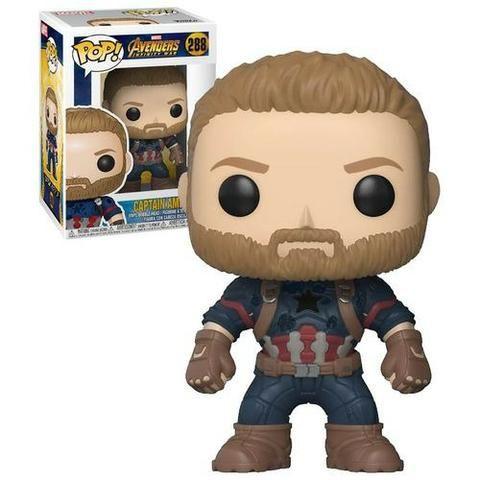 Funko Pop! Avengers: Infinity War - Captain America #288