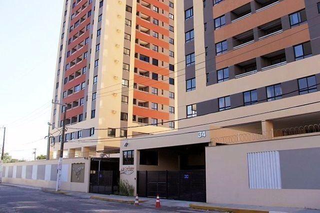 Apartamento na Ribeira com 3 quartos, sendo 1 suíte, condomínio residencial Sun River