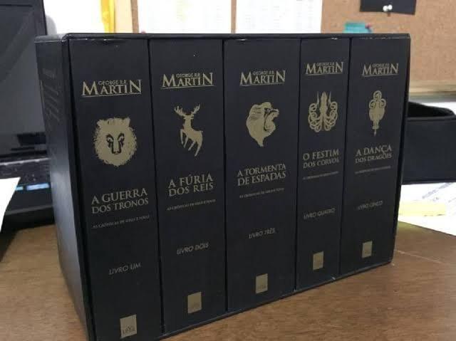 a34be1637 Box Game of Thrones - Livros e revistas - Patrimônio Velho ...