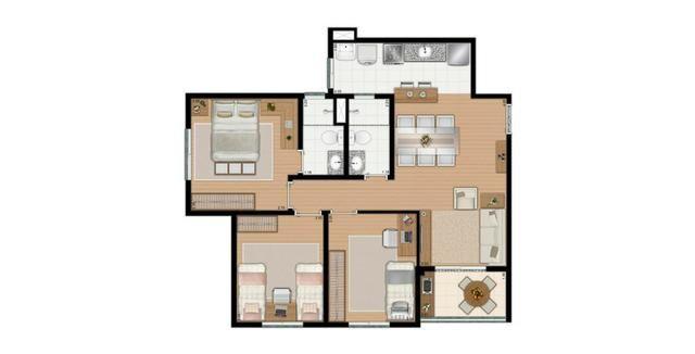 Apartamentos com 2 ou 3 dorms, suite e lazer completo em Diadema - Foto 17