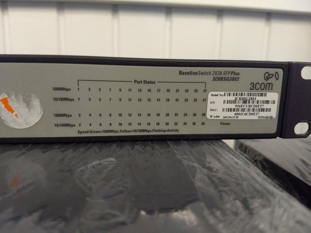 Switch Hp 24 portas Baseline 2928-SFP Pluss - Foto 5