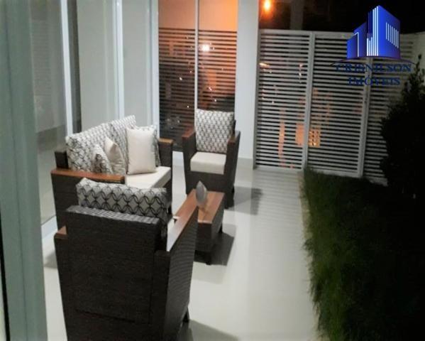 Casa à venda alphaville salvador ii, nova, r$ 2.400.000,00, piscina, espaço gourmet! - Foto 4