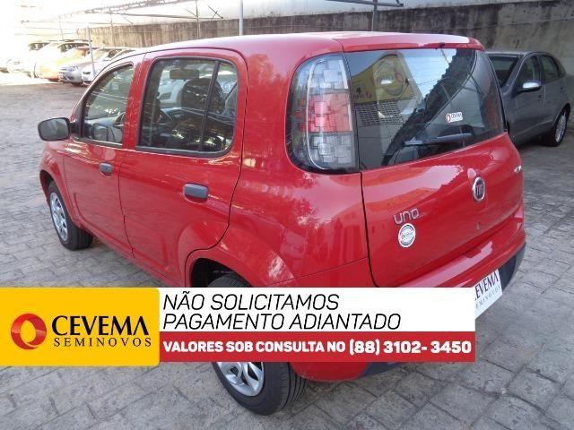 Fiat Uno Drive 1.0 - Vermelho - Foto 6