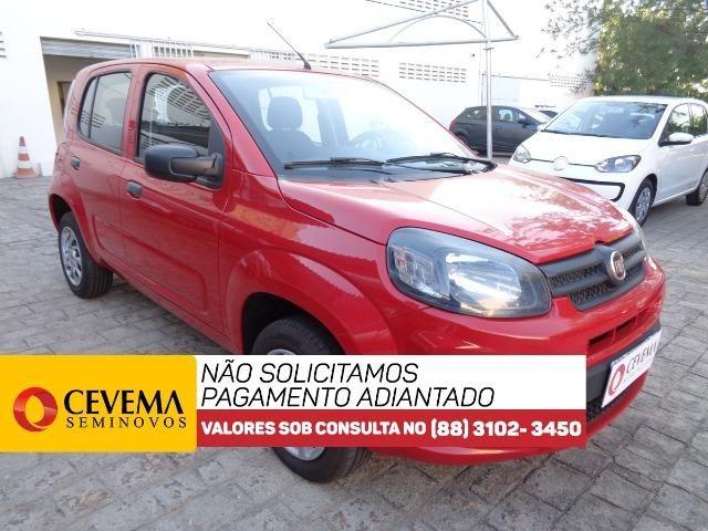 Fiat Uno Drive 1.0 - Vermelho - Foto 2