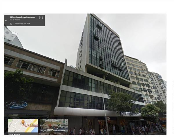 Copacabana-Sala reformada C/ Vaga Garagem, Equipada Com Ar Central