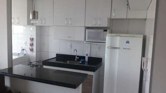 Apartamento Sala/Quarto Mobiliado, Locação na Ponta D'Areia, 2 Vagas Garagem - Foto 8