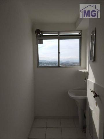 Apartamento com 2 dormitórios para alugar por r$ 850/mês - glória - macaé/rj - Foto 11