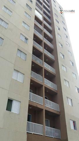 Apartamento para alugar, 47 m² por R$ 1.200,00/mês - Vila João Ramalho - Santo André/SP