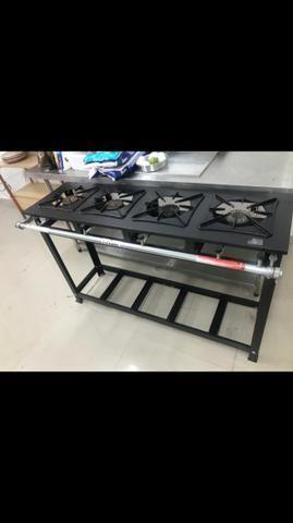 Mesas inox/ forno industrial/ fogão industrial - Foto 3
