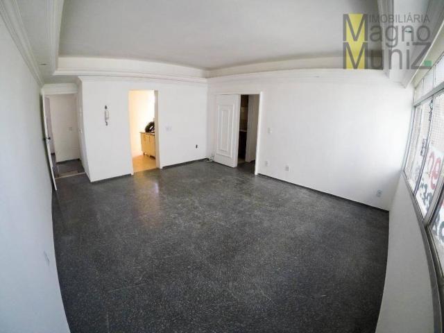 Apartamento com 3 dormitórios à venda por r$ 190.000 - papicu - fortaleza/ce