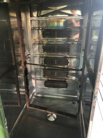 Máquina de assar frangos e carnes - Foto 4