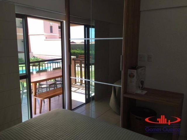 Apartamento com 2 dormitórios à venda, 68 m² por R$ 450.000,00 - Porto das Dunas - Aquiraz - Foto 11