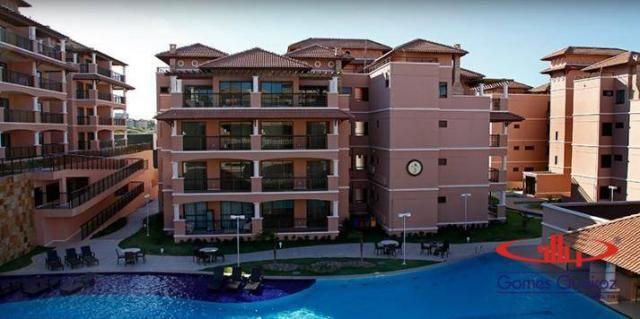 Apartamento com 2 dormitórios à venda, 68 m² por R$ 450.000,00 - Porto das Dunas - Aquiraz - Foto 2