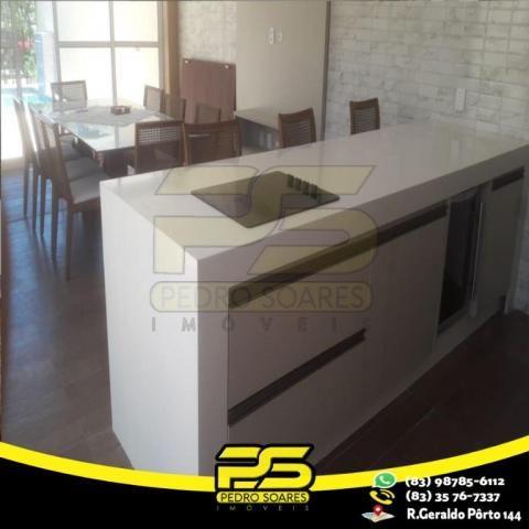 Casa com 4 dormitórios à venda, 460 m² por R$ 2.200.000,00 - Altiplano Cabo Branco - João  - Foto 6
