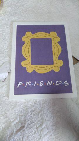 Vende-se quadro moldura Friends  - Foto 2