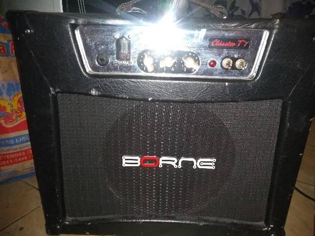 Amplificador borne clássico t7 valvulado - Foto 3