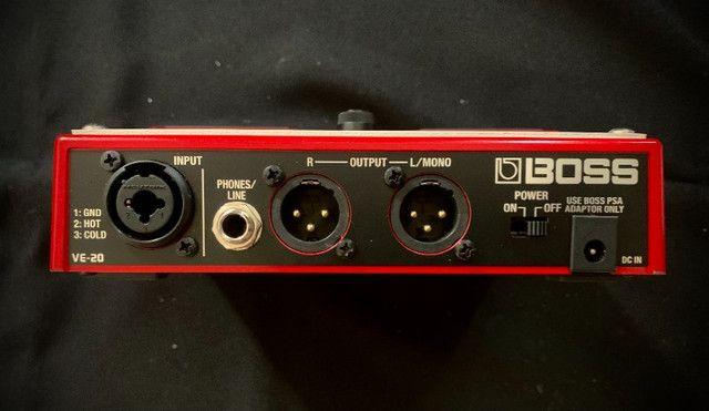 Pedal de Voz Vocal Processor ve 20 Boss - Foto 2