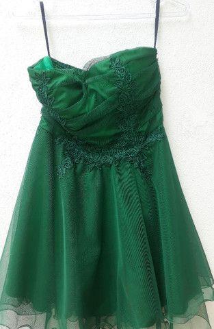 Vestido de festa verde  - Foto 2