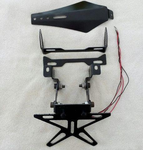 Eliminador de paralama basculável para Kawasaki Versys 650 até o ano de 2014 - Foto 5