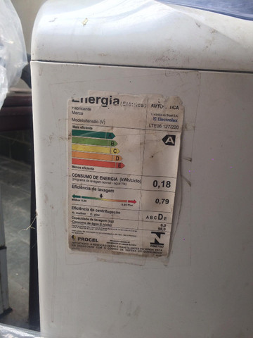 Máquina de Lavar Electrolux 8KG - R$320 - Foto 4