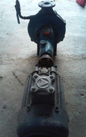 Bomba d'agua de alta vazão com motor