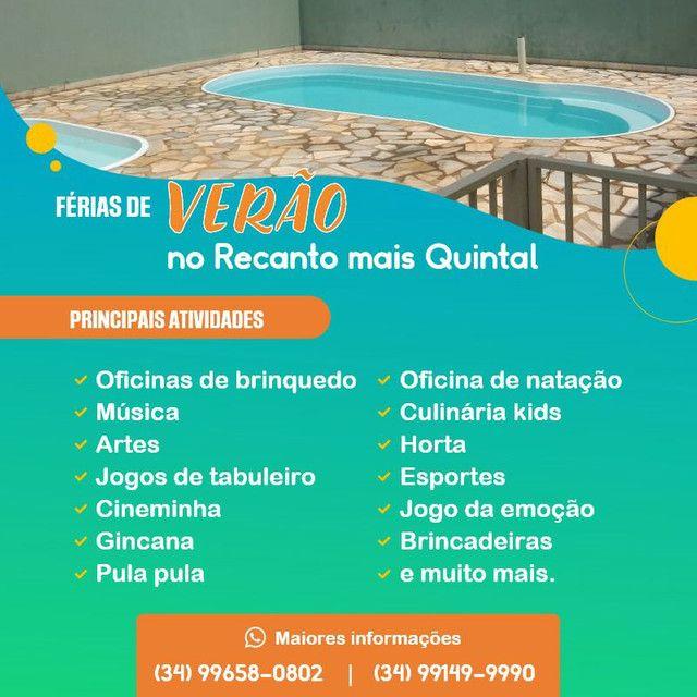 Colônia de férias no Recanto Mais Quintal - Uberaba - Foto 2
